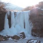 仙酔峡氷瀑