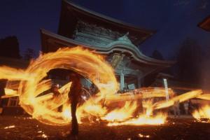 Torch-fishing Shinto ritual