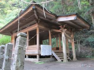 上洗川神社の湧水