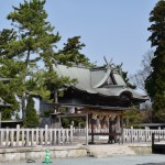 Aso-jinja Shrine (after the earthquake)