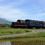 南阿蘇鉄道トロッコ列車の画像