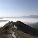 阿蘇谷の雲海の画像