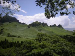 らくだ山と草原