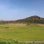 ミヤマキリシマと草千里の画像