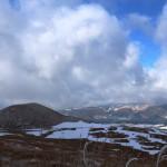 厳冬の米塚の画像