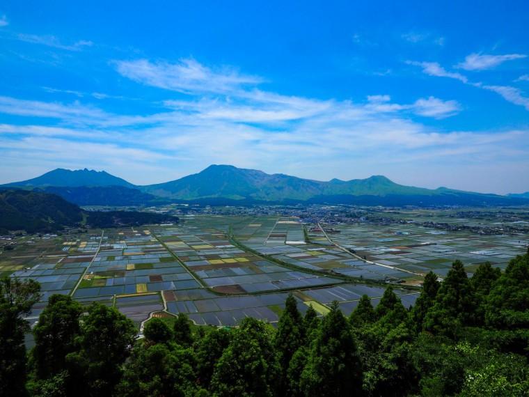 優秀賞5(阿蘇の田園風景)